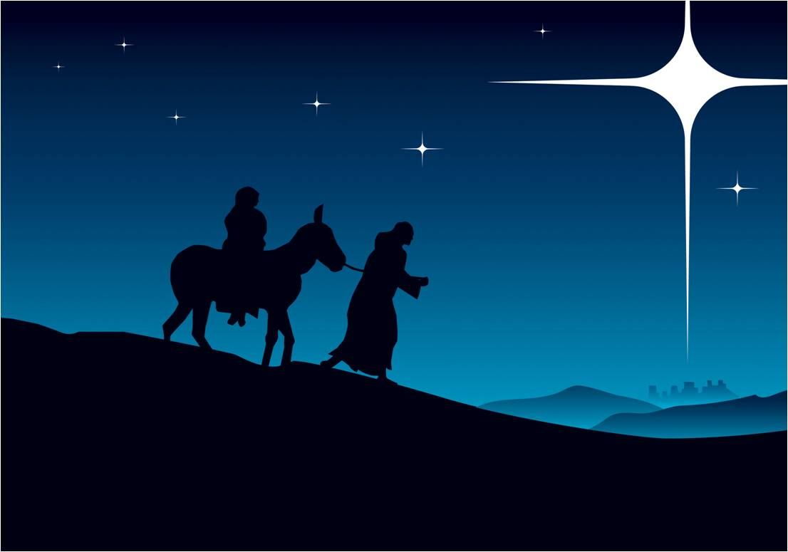 Coloring sheet mary and joseph bethlehem - Showing Picture Mary Joseph Star Donkey 1106x775