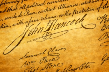 Image result for john hancock signature images