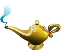 Exceptional Magic Lamp