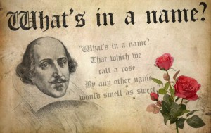 What's in a Name - Shakespeare